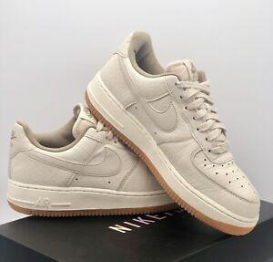 "Nike Air Force 1 Low Premium "" Oatmeal "" Gum Sole Size UK 6 Jordan / Dunk"