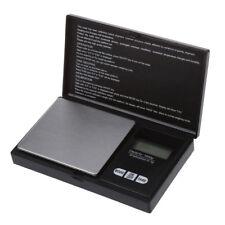Bilancia digitale per gioielli, Ricarica, Cucina, 1000 x 0,1 g, Nero D6Q8 A8K7