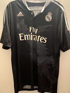 Real Madrid Dragon Shirt Maglia Adidas RARE XL