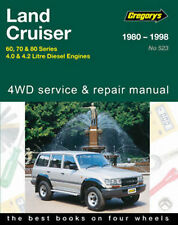 Toyota Landcruiser Diesel Workshop Repair Manual 1980-1998 with MPN GAP05523