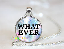 silver Chain Pendant Necklace wholesale Whatever Necklace glass dome Tibet