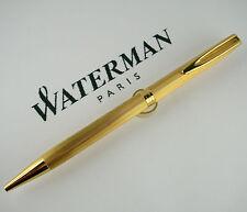 WATERMAN Plume Or Golden -  Stupenda Penna Sfera Vintage - Beautiful Pen as New!