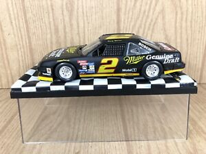 NASCAR Rusty Wallace #2 Car Plastic With Prestige Display Case (see description)