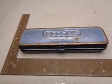"""Gedore 1/4"""" drive metric socket set 2093U-3 ratchet U01Q11Q"""
