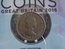 0014FL Gran Bretaña Elizabeth II Florin 1962