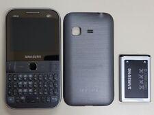 Samsung Ch@t 527 GT-S5270 Gsm Unlocked Movistar Smartphone Cellphone Gray 3G