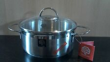 Bratentopf 1,4 Liter Schulte Ufer Serie Wave 16 cm  Induction casserole
