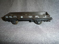466B Jouef Playcraft Wagon Plat marron 162503 SNCF 1:87 Ho 1/87