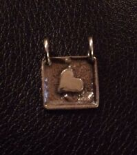 Heart Sterling Silver Charm C3