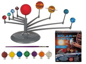Solar System Paint Kit - Plastic Planetary System - Painting Creative Planets
