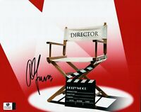 Alfonso Cuaron Signed Autographed 8X10 Photo Gravity Director's Chair GV849662