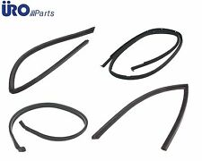 For Mercedes R107 Convertible Hard Top Seals 4 pcs Front Rear L+R Weatherstrip