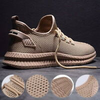 Men's Sneakers Shoes Sports Running Casual Lightweight Trainers Breathable Mesh