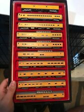 Lot Of 10 Union Pacific Passenger Cars Kato, Centralia