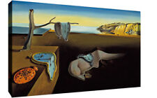 More details for salvador dali - the persistence of memory canvas painting wall art print picture