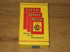Vintage Fifth Avenue Mixture Pipe Tobacco Package-Unopened With Tobacco Stamp