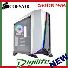 Corsair Carbide SPEC-OMEGA RGB Tempered Glass Mid-Tower ATX Case - White/Black