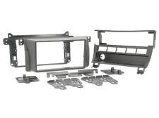 für BMW 3er E46  Auto Radio Blende Montage Einbau Rahmen 2-DIN schwarz matt