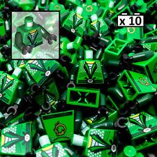 LEGO 10 X Tronco corpo Ninjago CINGHIA E Argento Diamanti e Serpente Modello