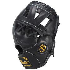 "Fame Buckler baseball glove, F1125B 11.25"" RHT Infield Black"