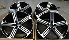 "18"" GOLF R STYLE BLACK WHEELS RIMS FIT VW GOLF GTI JETTA PASSAT CC EOS 5466 BM"