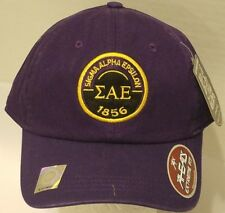 899742faf2eeb4 Sigma Alpha Epsilon Purple Baseball Cap - Adjustable Hat