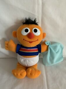 Hasbro/Playskool Sesame Street  Baby Sniffles Ernie