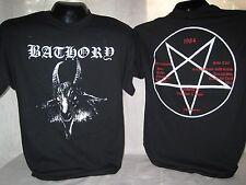 Bathory T-Shirt Tee Quorthon Heavy Metal Band Music Apparel New 1022