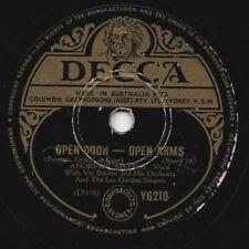 """78er Swing Vocal Andrews Sisters """"Open Door – Open Arms"""""""