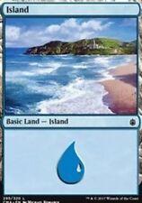 Island (295) NM Commander Anthology Basic Land Common MTG