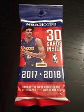 2017 2018 PANINI NBA HOOPS AUTO/AUTOGRAPH JUMBO HOT PACK!!