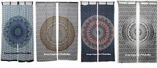 Indian Mandala Tulle Voile Door Window Curtain Drape Panel Sheer Scarf Valances