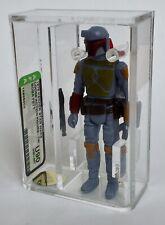Vintage Star Wars Loose Boba Fett AFA Graded U90 TW Mint Kenner *