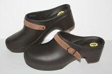 Crocs Mules Casual Shoes, Brown, Women's US Size 9