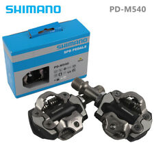 H Shimano PD-M540 SPD MTB Road Bike Pedal Clipless Bicycle Pedals+SM-SH51 Cleats