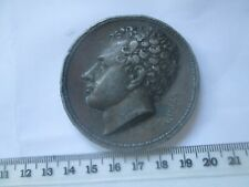 More details for large and heavy 1820's greek medal death of lord byron