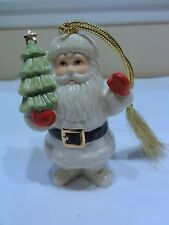 Lenox Porcelain Santa Claus - Christmas Ornament - Nice Display with Box