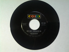 """The Duprees 45 rpm """"Why Don't You Believe Me"""" COED 584"""