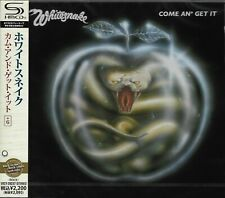 WHITESNAKE COME AN' GET IT 2011 RMST SHM CD+6  BRAND NEW/SEALED - GIFT QUALITY!