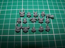14 Chaos Space Marine Heads bits
