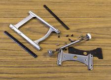Graflex Miniature Speed Graphic 2x3 2¼x3¼ Focusing Rail, Guides & Pinion Set