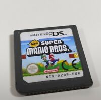 New Super Mario Bros Nintendo DS Game Cart Only Genuine 3DS 2DS Compatible EUR