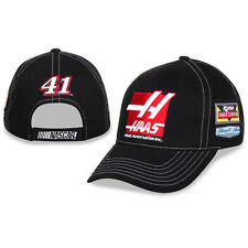 Kurt Busch Checkered Flag #41 Haas Automation Uniform Hat FREE SHIP!
