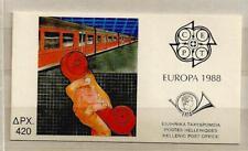 1988 MNH Greece, europa booklet, postfris