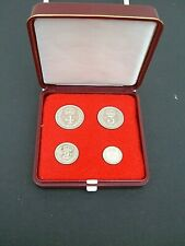 More details for uk gb elizabeth ii. 1961 silver (.925) maundy set . box. exc cond. 60th birthday