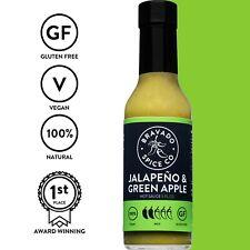 Bravado Spice Co. Jalapeno and Green Apple Hot Chilli Sauce *Brand New*