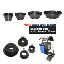 4pcs/set Wheel Balancer Taper Cone Standard Vehicle Tools 40mm Shaft Diameter