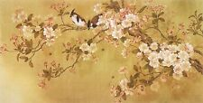 Feng Shui Love Birds Painting Japanese Wall Art Modern Art Canvas Prints