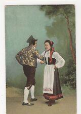 Sweden, National Costume Postcard, B147