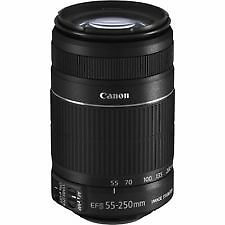 Canon EF-S 55-250mm f/4-5.6 IS MARK II LENS + 2YR CANON WRNTY